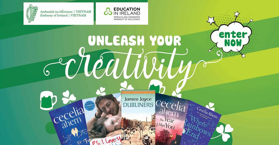 Cuộc thi Sáng tạo cùng Ireland - Unleash your Creativity with Ireland 2017